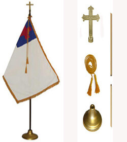 Christian Flag Set