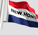 New Homes Flag