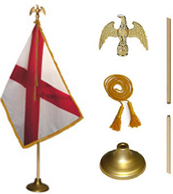 Alabama State Flag Set