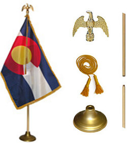 Colorado State Flag Set