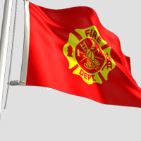 Fire Dept Flag
