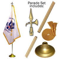 Indoor Coast Guard Flag Set