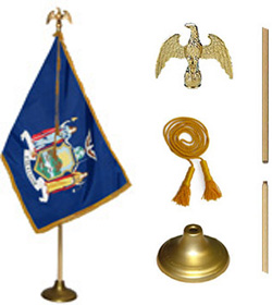 New York State Flag Set