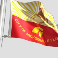 Jacksonville City Flag