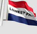 Lowest Prices Flag