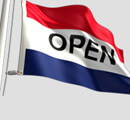 Open Flag