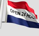 Open 24 Flag