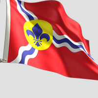 St Louis City Flag
