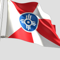 Wichita City Flag